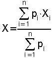 formule pour les coordonées barycentriques