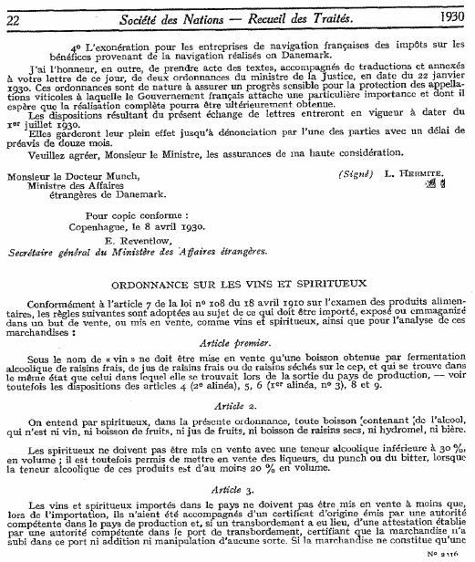 ANNEXE - INT - Note du 28 janvier 1930 (convention fiscale franco-danoise) - page 3