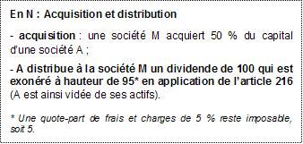 IS - BASE - Déduction immédiate explications 1